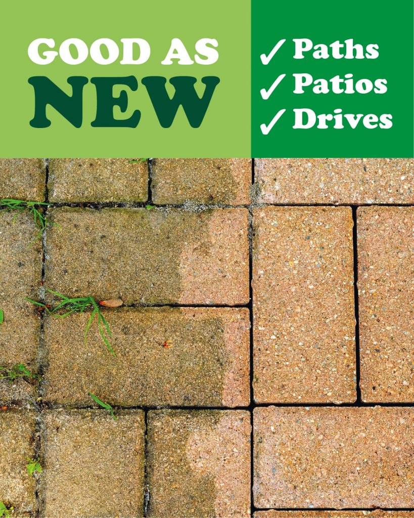 paths patio and drives